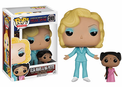 Funko Pop TV Vinyl American Horror Freak Show Elsa Mars & Ma Petite Figure