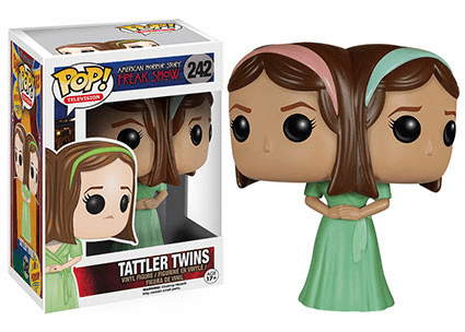 Funko Pop TV Vinyl American Horror Freak Show Tattler Twins Figure