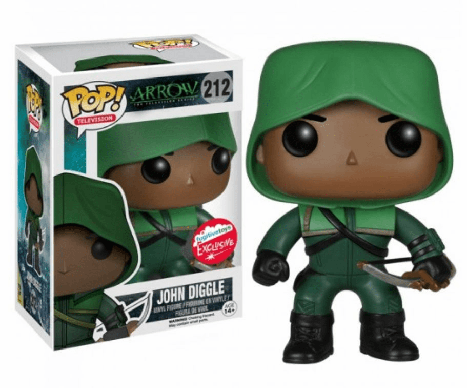 Funko Pop TV Vinyl Arrow John Diggle Figure