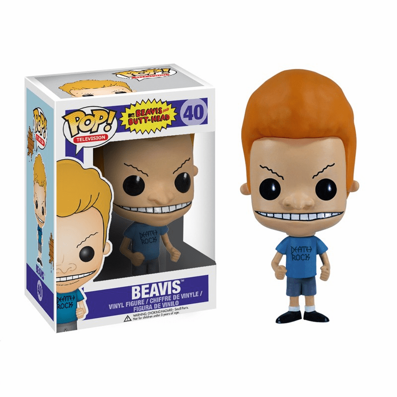 Funko Pop TV Vinyl Beavis & Butt Head Beavis Figure