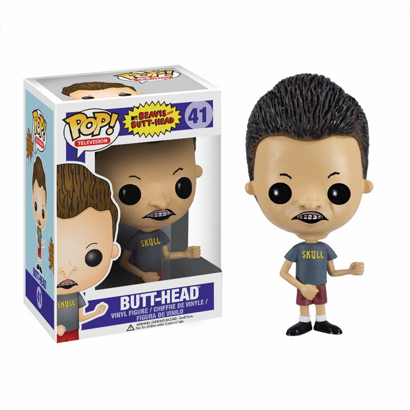 Funko Pop TV Vinyl Beavis & Butt Head Butt-Head Figure