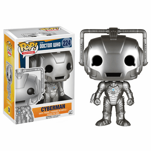 Funko Pop TV Vinyl Doctor Who Cyberman Figure