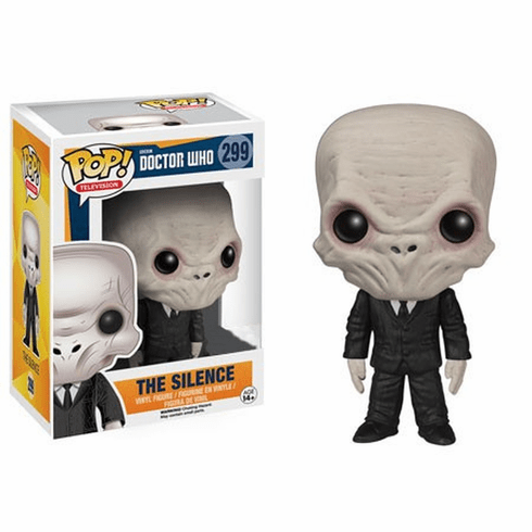 Funko Pop TV Vinyl Doctor Who The Silence Figure