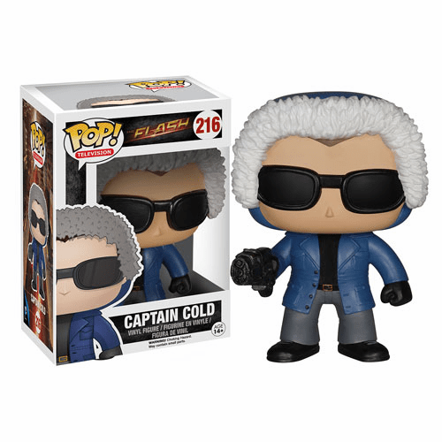 Funko Pop TV Vinyl Flash Captain Cold Figure