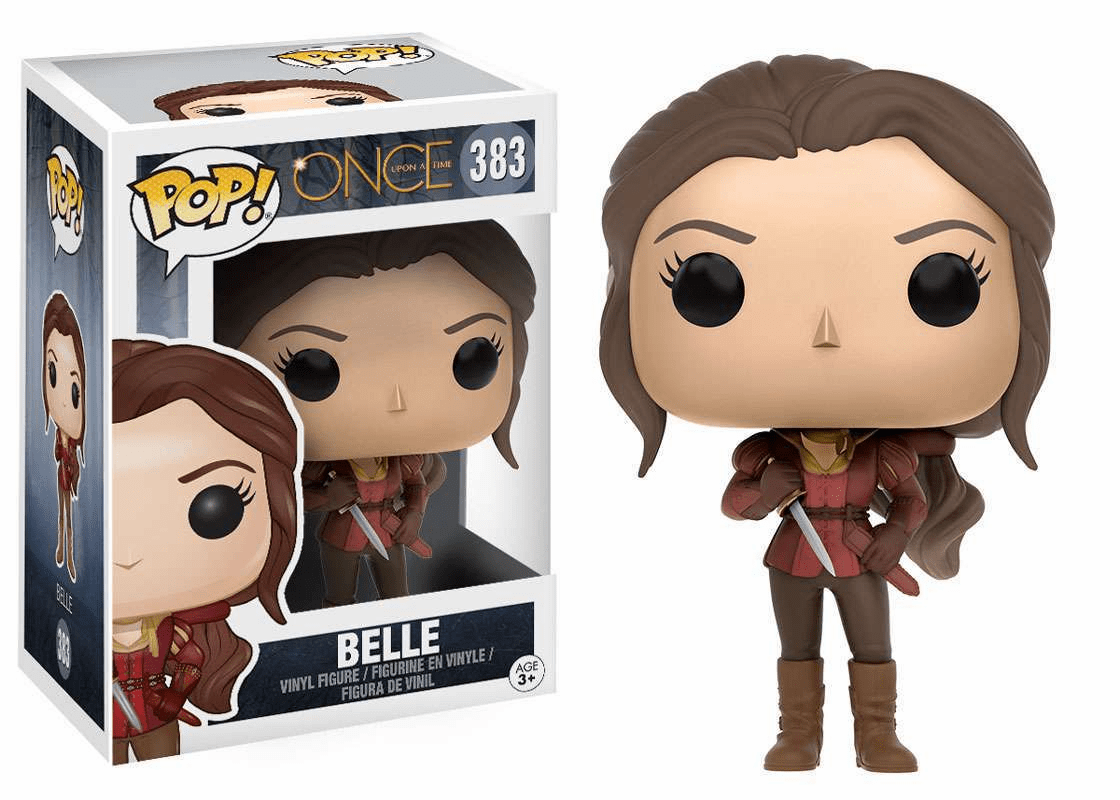 Funko Pop TV Vinyl Once Upon a Time Belle Figure