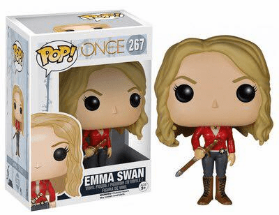 Funko Pop TV Vinyl Once Upon a Time Emma Swan Figure