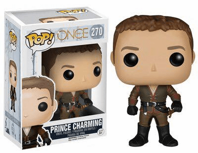 Funko Pop TV Vinyl Once Upon a Time Prince Charming Figure