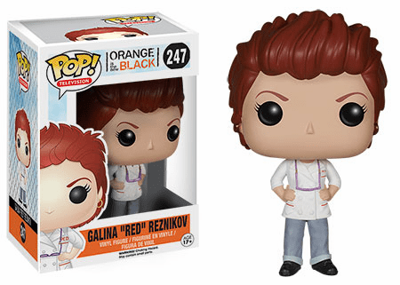 Funko Pop TV Vinyl Orange is The New Black Galina Red Reznikov Figure