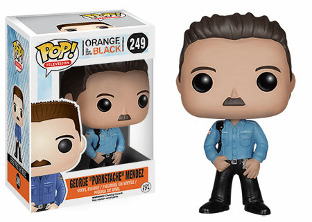 Funko Pop TV Vinyl Orange is The New Black Pornstache Mendez Figure