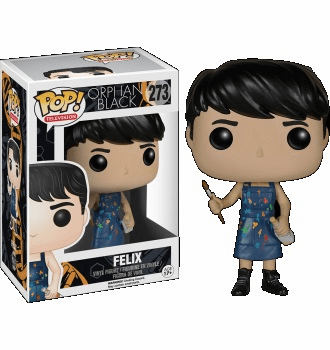 Funko Pop TV Vinyl Orphan Black Felix Figure