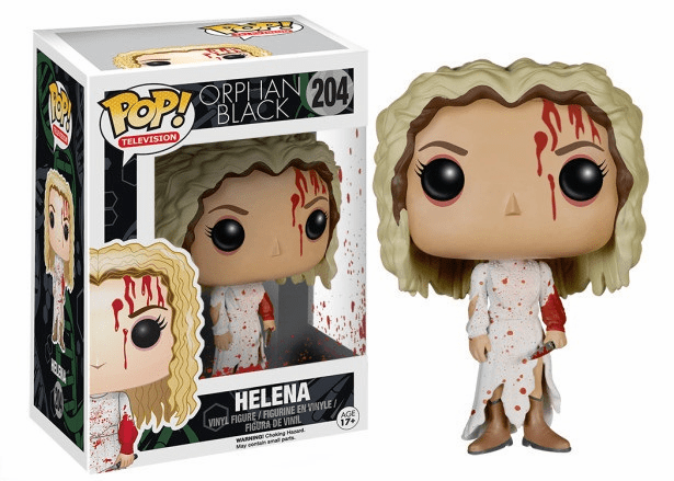 Funko Pop TV Vinyl Orphan Black Helena Figure