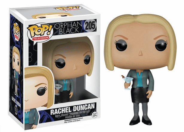 Funko Pop TV Vinyl Orphan Black Rachel Duncan Figure
