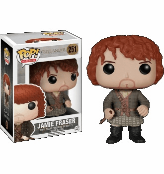 Funko Pop TV Vinyl Outlander Jamie Fraser Figure