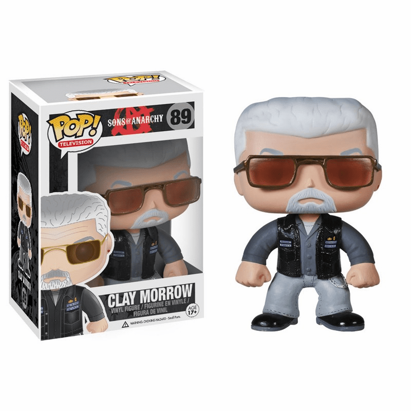 Funko Pop TV Vinyl Sons of Anarchy Clay Morrow Figure