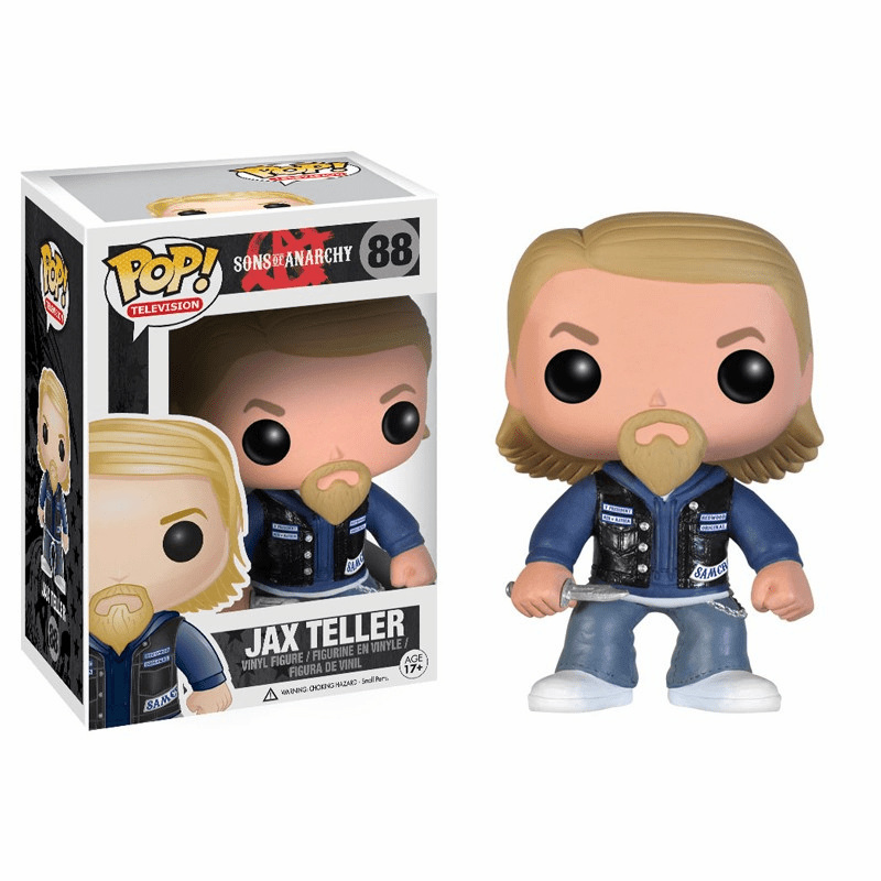 Funko Pop TV Vinyl Sons of Anarchy Jax Teller Figure