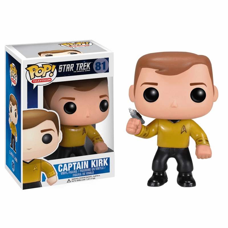 Funko Pop TV Vinyl Star Trek Captain Kirk Figure