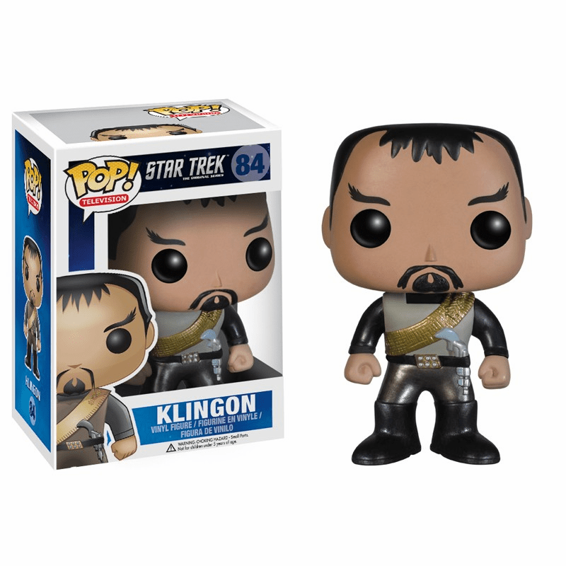 Funko Pop TV Vinyl Star Trek Klingon Figure