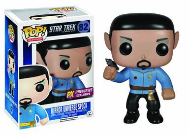 Funko Pop TV Vinyl Star Trek Mirror Universe Spock Figure