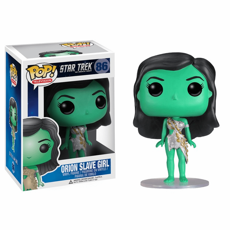 Funko Pop TV Vinyl Star Trek Orion Slave Girl Figure