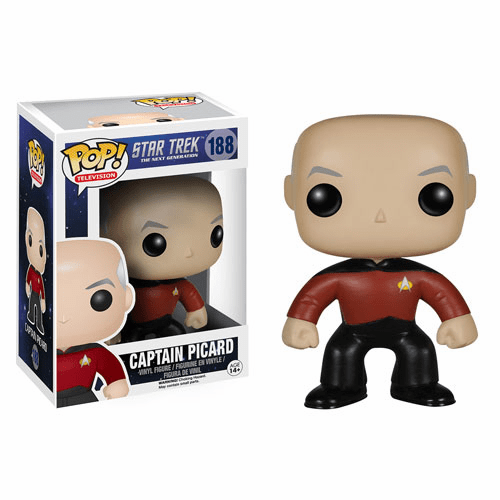 Funko Pop TV Vinyl Star Trek The Next Generation Captain Picard Figure