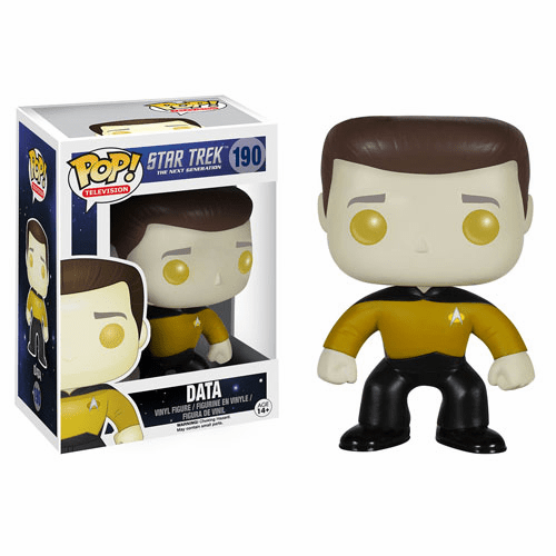 Funko Pop TV Vinyl Star Trek The Next Generation Data Figure