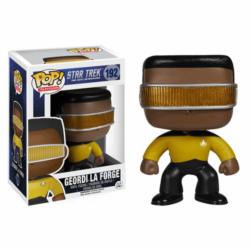 Funko Pop TV Vinyl Star Trek The Next Generation Geordi La Forge Figure