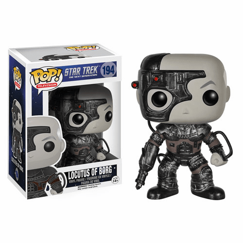 Funko Pop TV Vinyl Star Trek The Next Generation Locutus of Borg Figure