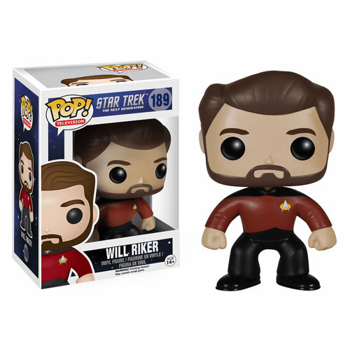 Funko Pop TV Vinyl Star Trek The Next Generation Will Riker Figure