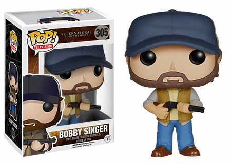Funko Pop TV Vinyl Supernatural Bobby Singer Figure