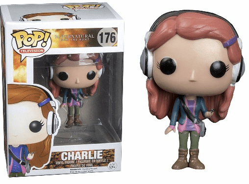 Funko Pop TV Vinyl Supernatural Charlie Figure