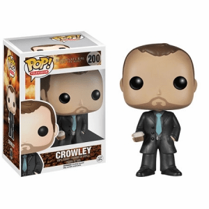 Funko Pop TV Vinyl Supernatural Crowley Figure
