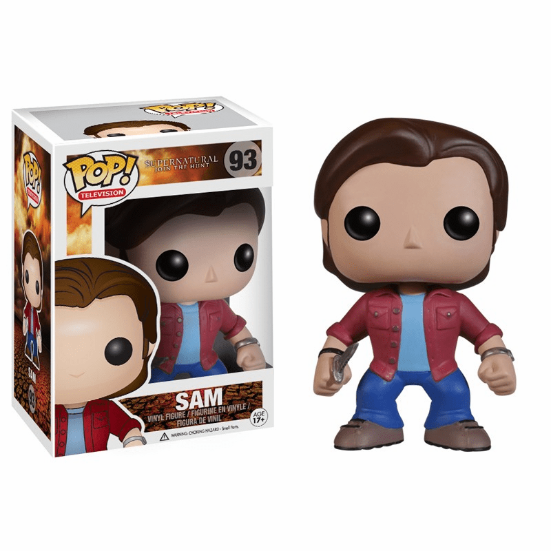 Funko Pop TV Vinyl Supernatural Sam Figure