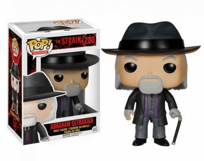 Funko Pop TV Vinyl The Strain Abraham Setrakian Figure