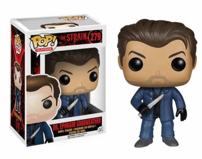 Funko Pop TV Vinyl The Strain Dr. Ephraim Goodweather Figure