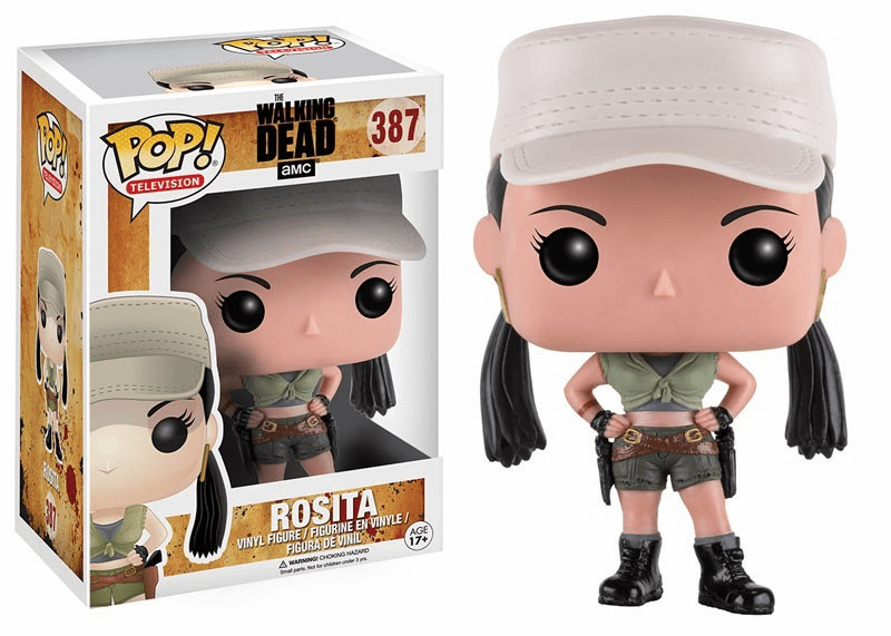 Funko Pop TV Vinyl The Walking Dead Rosita Figure