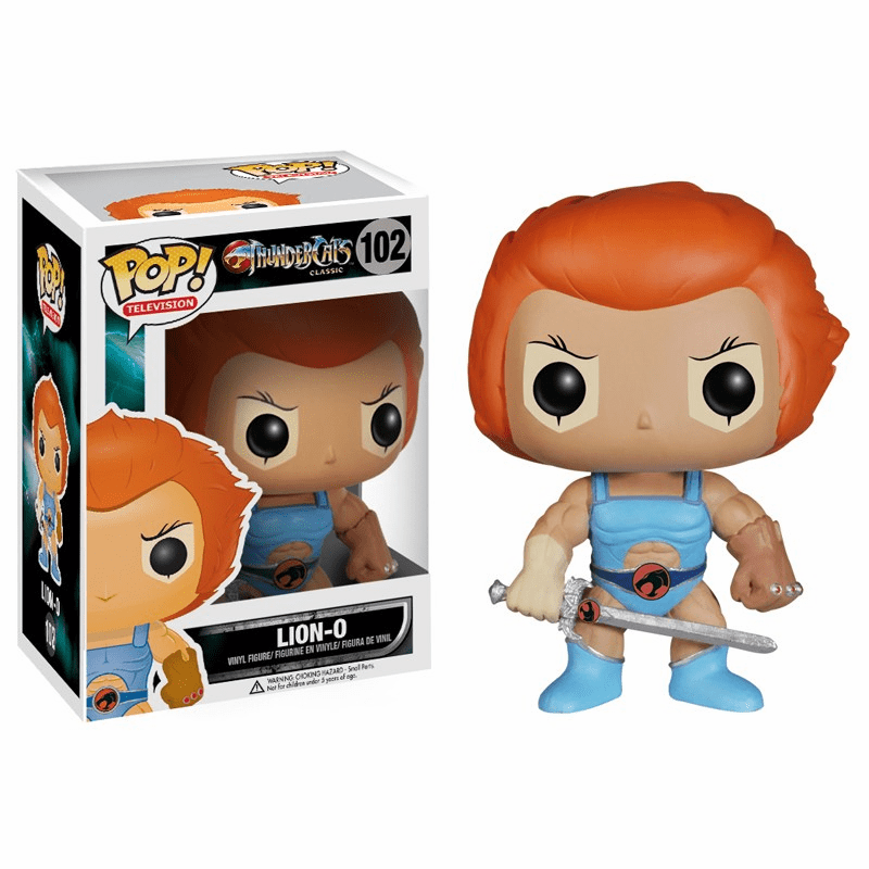 Funko Pop TV Vinyl Thundercats Lion-O Figure