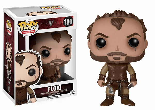 Funko Pop TV Vinyl Vikings Floki Figure