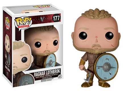 Funko Pop TV Vinyl Vikings Ragnar Lothbrok Figure