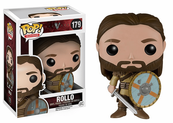 Funko Pop TV Vinyl Vikings Rollo Figure