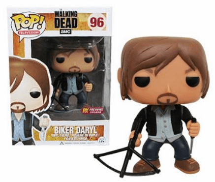 Funko Pop TV Vinyl Walking Dead Biker Daryl Figure