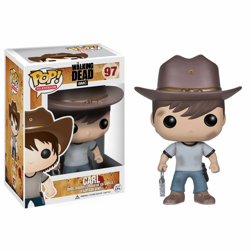 Funko Pop TV Vinyl Walking Dead Carl Figure