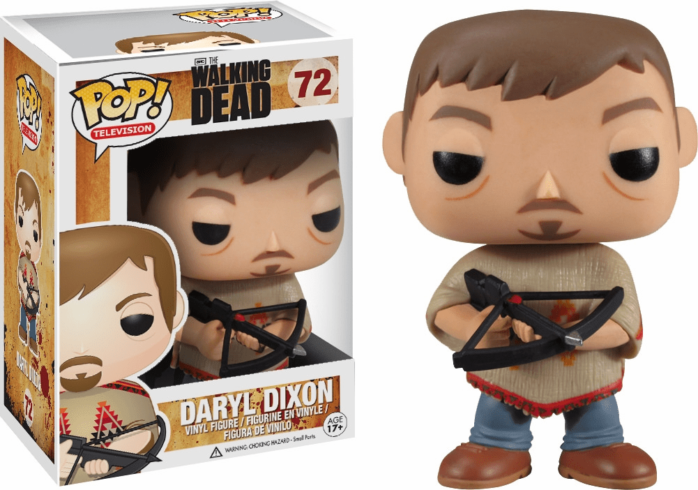 Funko Pop TV Vinyl Walking Dead Daryl Dixon-Figure