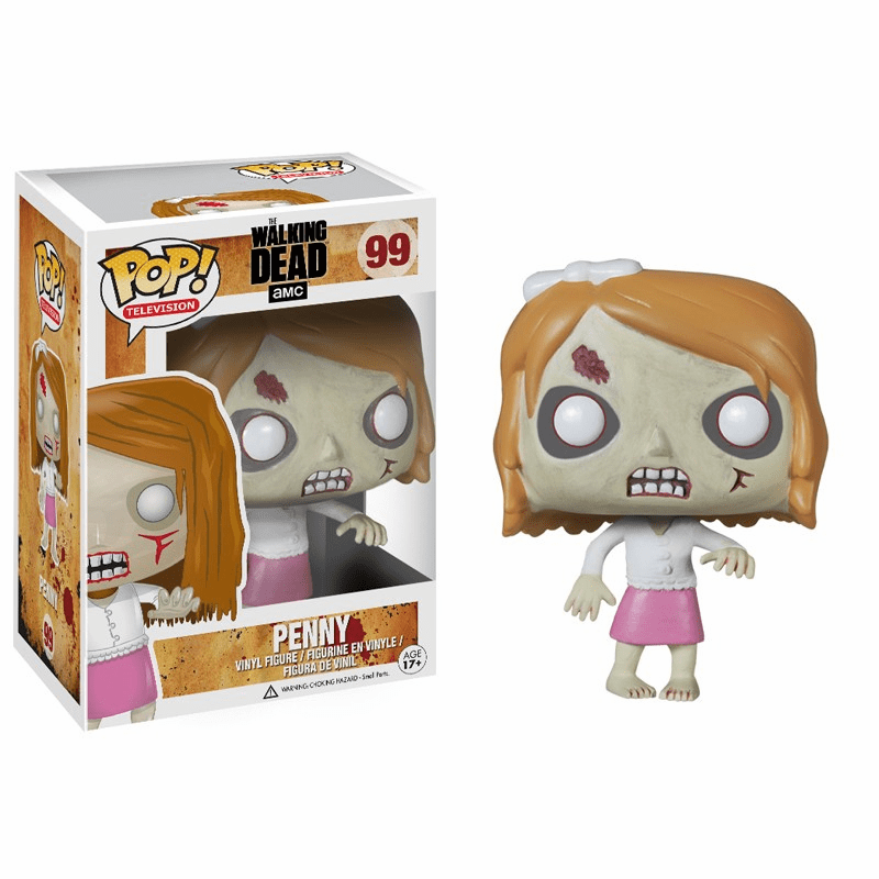 Funko Pop TV Vinyl Walking Dead Penny Figure