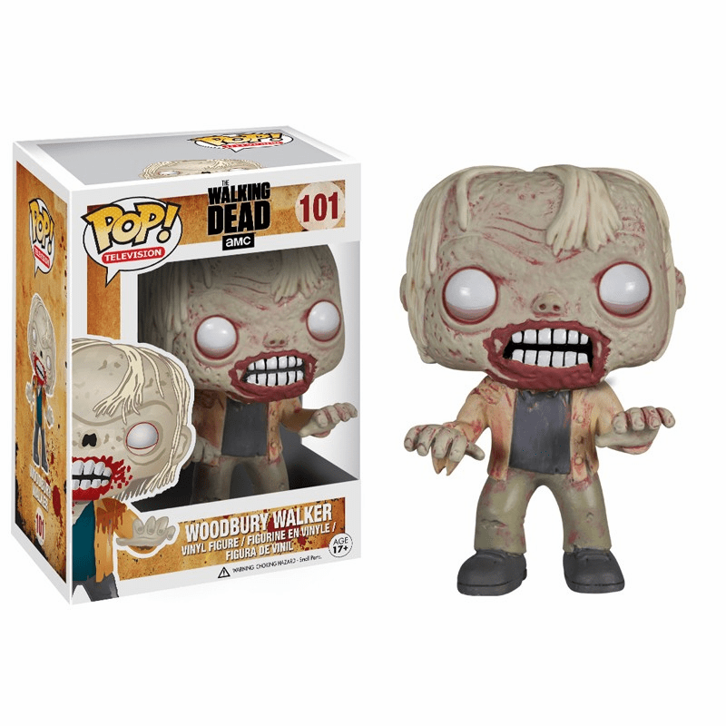 Funko Pop TV Vinyl Walking Dead Woodbury Walker Figure