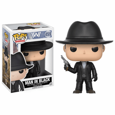 Funko Pop TV Vinyl Westworld Man in Black Figure
