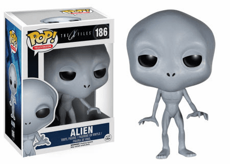 Funko Pop TV Vinyl X-Files Alien Figure