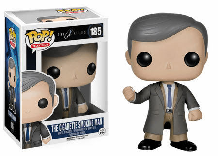 Funko Pop TV Vinyl X-Files Cigarette Smoking Man Figure