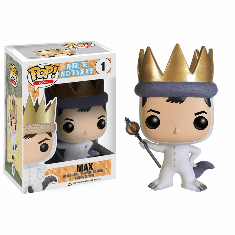 Funko Pop Vinyl Books 01 Where the Wild Things Are Max Figure