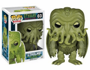 Funko Pop Vinyl Books 03 Cthulhu Figure