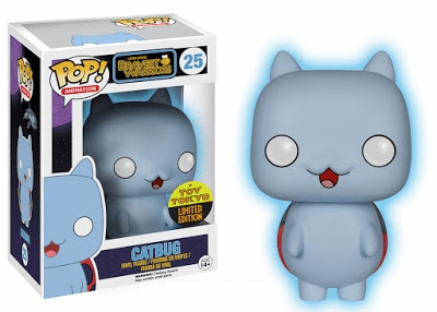 Funko Pop Vinyl Cartoon Hangover Bravest Warriors Catbug Exclusive Figure